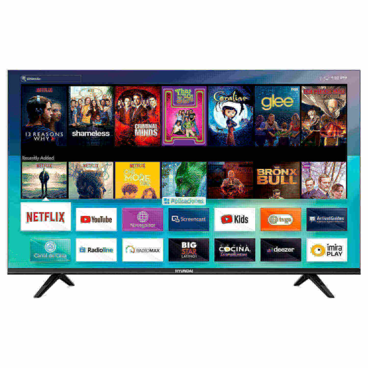 "Smart Tv Hyundai 55"" 4K Ultra HD + Barra de sonido incorporada HY55MH794LN"